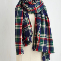 Chillin' Haute Scarf in Navy by ModCloth