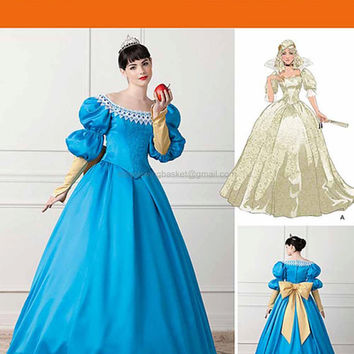 Belle Dress Costume - Simplicity 1728  - Uncut