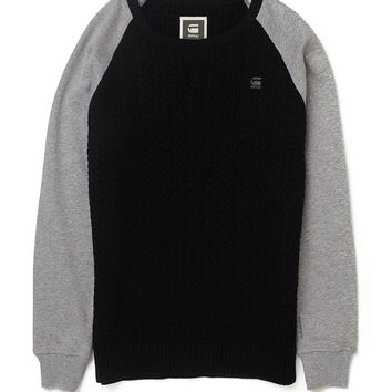 G Star Kryv Jumper with Raglan Sleeves