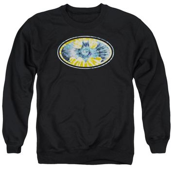 Batman - Tie Dye 3 Adult Crewneck Sweatshirt