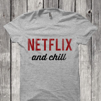 Netflix and Chill Men's T-Shirt
