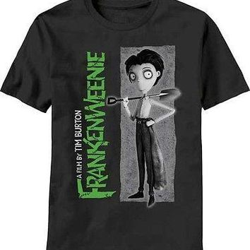 Frankenweenie Victor Tim Burton New Licensed Adult T-Shirt S M L XL XXL
