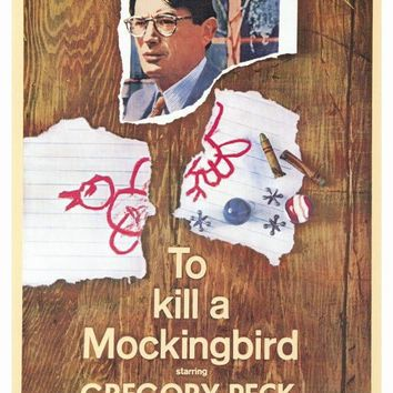 To Kill a Mockingbird 27x40 Movie Poster (1963)