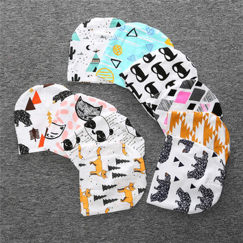 Infant and Toddler Character Print Knit Beanie Cap