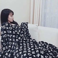 Louis Vuitton Conditioning Throw Blanket Quilt For Bedroom Living Rooms Sofa