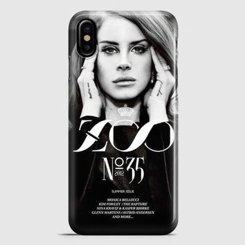 Lana Del Rey Cigarettes iPhone X Case