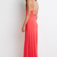 Cutout-Back Cami Maxi Dress
