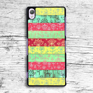 Lily & Lotus Layers in Mint Green Sony Xperia Case, iPhone 4s 5s 5c 6s Plus Cases, iPod Touch 4 5 6 case, samsung case, HTC case, LG case, Nexus case, iPad cases