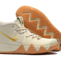 Nike Kyrie Irving 4 IV Beige Sport Shoes US7-12