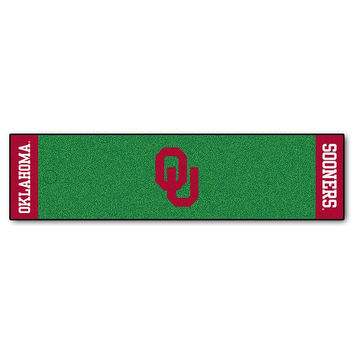 Oklahoma Sooners NCAA Putting Green Runner (18x72)