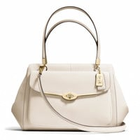 MADISON MADELINE EAST/WEST SATCHEL IN SAFFIANO LEATHER