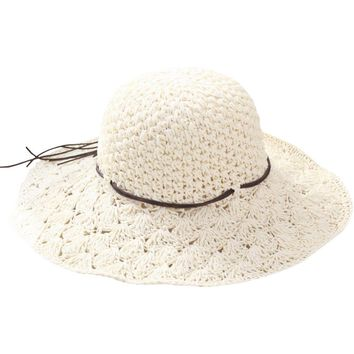 Handwork Summer Straw Sun hat