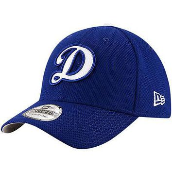 Los Angeles Dodgers LA New Era 39THIRTY Diamond Era Stretch Fit Flex Cap Hat