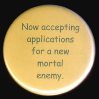 Are You Up For The Job Button by kohaku16 on Etsy