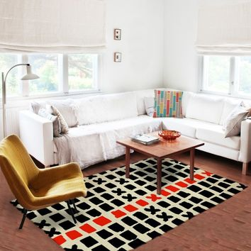 Living room Rug - Accent Rugs - Affordable area rugs - Dorm rugs - 5x8 rug
