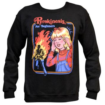 Pyrokinesis for Beginners Sweater