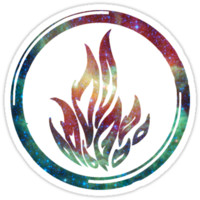 Divergent - Dauntless Galaxy Nebula Faction Symbol