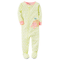 Carter's Long Sleeve One Piece Pajama-Toddler Girls - JCPenney