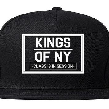 DCK4S2 Kings Of NY Class Is In Session Snapback Hat Cap