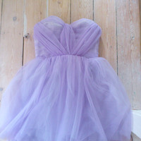 Romantic ANY COLOUR hand pleated, sweet heart tulle short prom wedding dress - Wedding, Evening UK Custom made