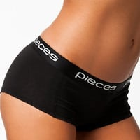 Logo Lady Boxers Solid, Pieces