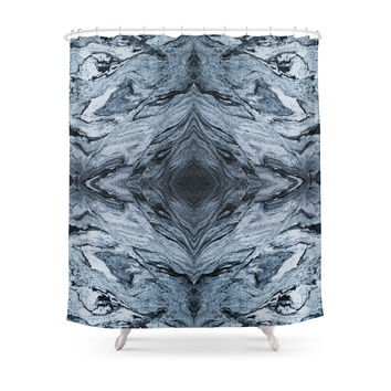 Society6 Marble Shower Curtain
