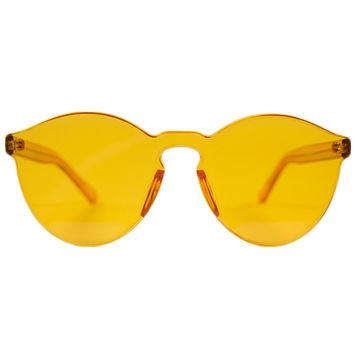 AMOOOLIA ORANGE SUNGLASSES- PREORDER