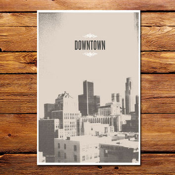 Downtown Poster