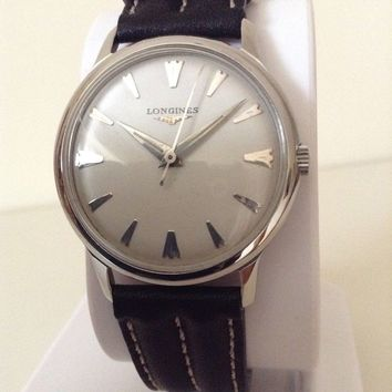 Longines Vintage Cal 23ZS 17 Jewels Hand-Winding Watch 1957