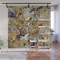 Pattern LXXV Wall Mural by tmarchev