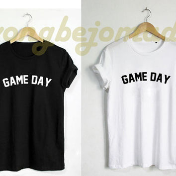 Game Day Shirt - Baseball Tshirt Football Tshirt Soccer Mom T-Shirt Unisex Size Tshirt