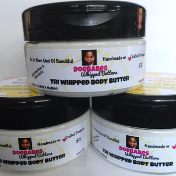 Tri Whipped Body Butter 8oz