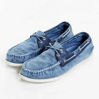 Sperry Authentic Original 2-Eye Washed Wedge Boat Shoe