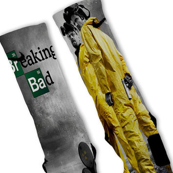 Breaking Bad Custom Nike Elite Socks
