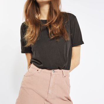 MOTO Cord Mini High Waist Skirt | Topshop