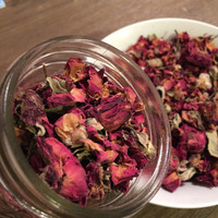 Dried Rose Buds and Petals // 10 cups // Food Grade // Teas, Baths, Crafts & Wedding Exit Toss // All Natural