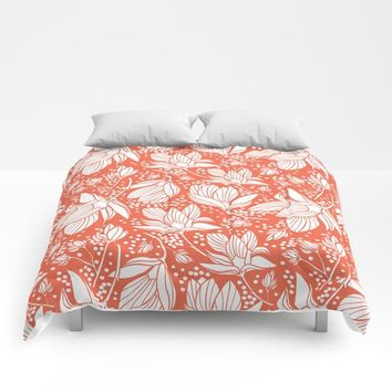 Magnolia Shower Comforters by Heather Dutton
