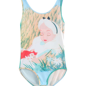Disney Alice In Wonderland Bodysuit