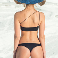 Farron Swim Boulders Bottom in Black- Large