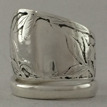 Size 8.5 Vintage Sterling Silver Gorham Spoon Ring