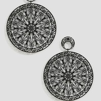 Limited Edition Filigree Disc Earrings at asos.com