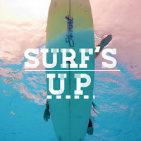 Surf's Up - Surfing Poster Matte Art Print
