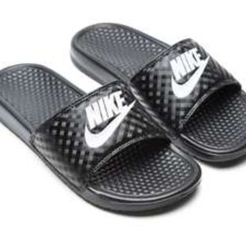... quite nice b0de5 0a32f Nike Benassi Just Do It Slides Womens JD Sports  ... 22ef0911db