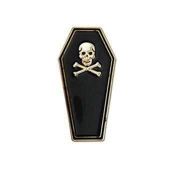 Coffin Pin