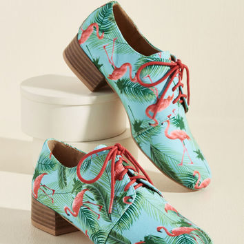 Flamingo Flow Oxford Heel