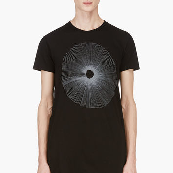 Silent By Damir Doma Black Silent Logo T-shirt