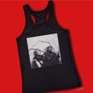 2Pac And Marilyn Monroe Pose Women'S Tank Top