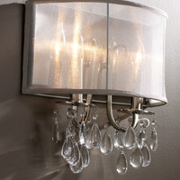 Shaded Chandelier Sconce - Neiman Marcus