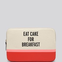 kate spade new york Computer Case - Laptop Sleeve Eat Cake For Breakfast