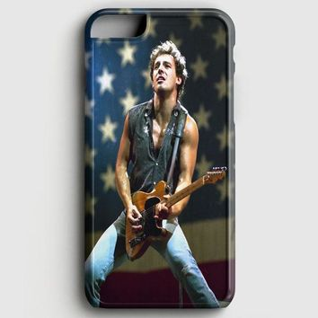 Bruce Springsteen Born To Run Quote iPhone 8 Case